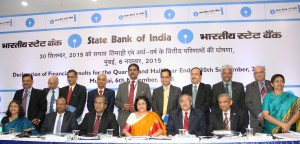State Bank of India- announcing its Q2 FY16 result announcement