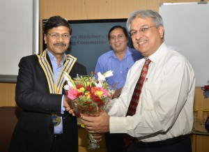 Pic- CMD, NBCC selected as the president of DMA