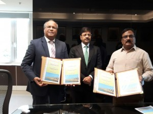 Photo - MoU signing between NBCC and VIDC, Govt. of Maharashtra